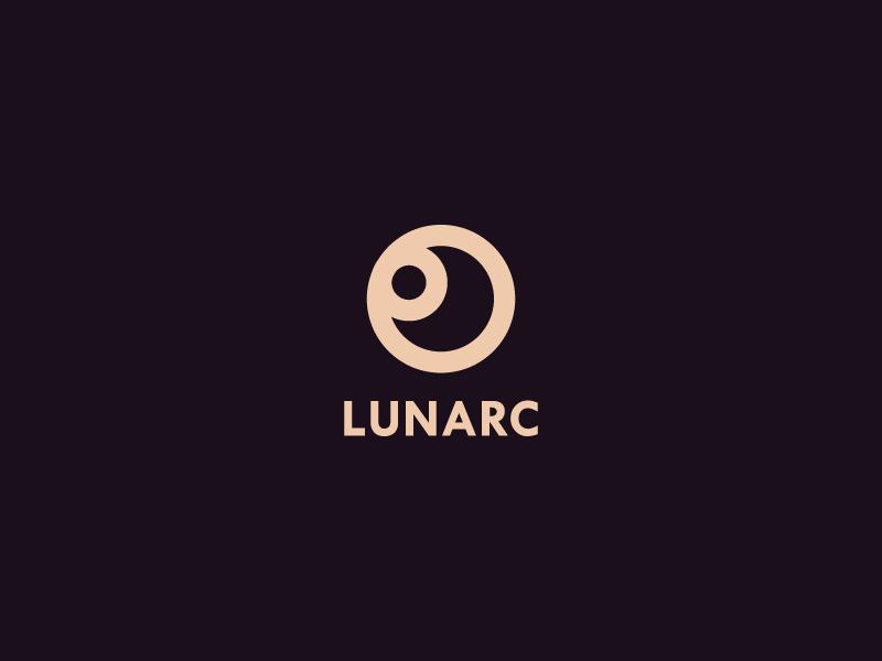 Lunarc In 2021 Moon Logo Logo Design Moon Icon