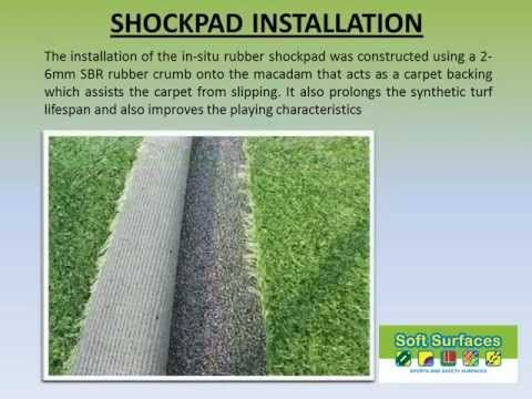 Europave Sports Surface Underlay Shockpad - Sports and Safety Surfaces