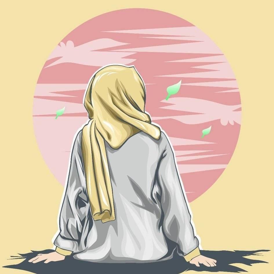 118 Gambar Kartun Muslimah Terbaik Di 2020