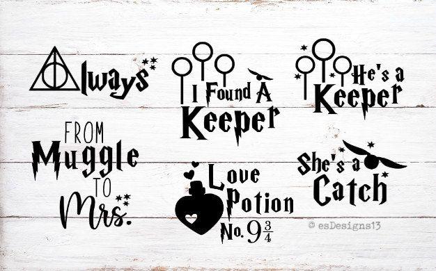 Download Harry Potter Wedding Svg Bundle Harry Potter Quotes Bundle ...