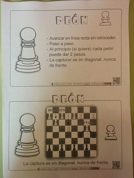 Batallas De Peones Ajedrez Infantil Movimientos Del Ajedrez Ajedrez