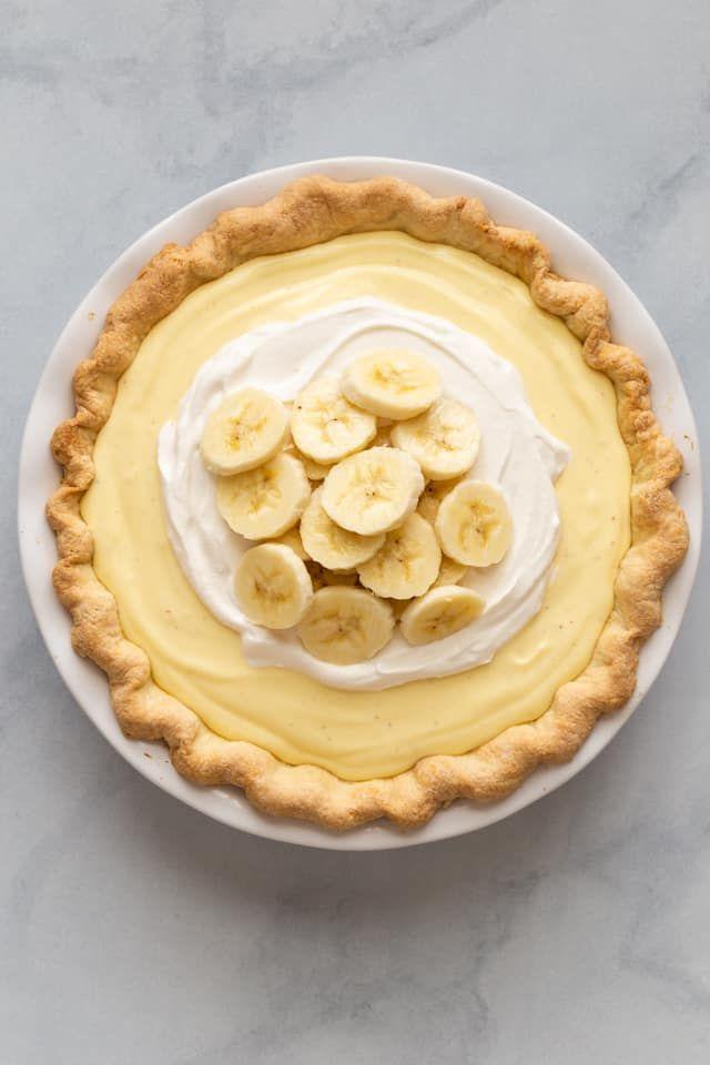 Banana Cream Pie #bananapie
