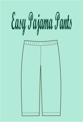 picture regarding Printable Pajama Pants Pattern titled Absolutely free SEWING Routine: basic pajama routine - Upon the Chopping