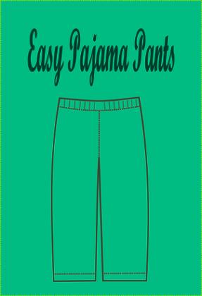 image regarding Printable Pajama Pants Pattern identified as Free of charge SEWING Practice: very simple pajama habit - Upon the Reducing