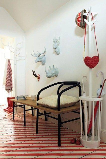Small hallway interior design ideas for spaces  flats houseandgarden also rh pinterest