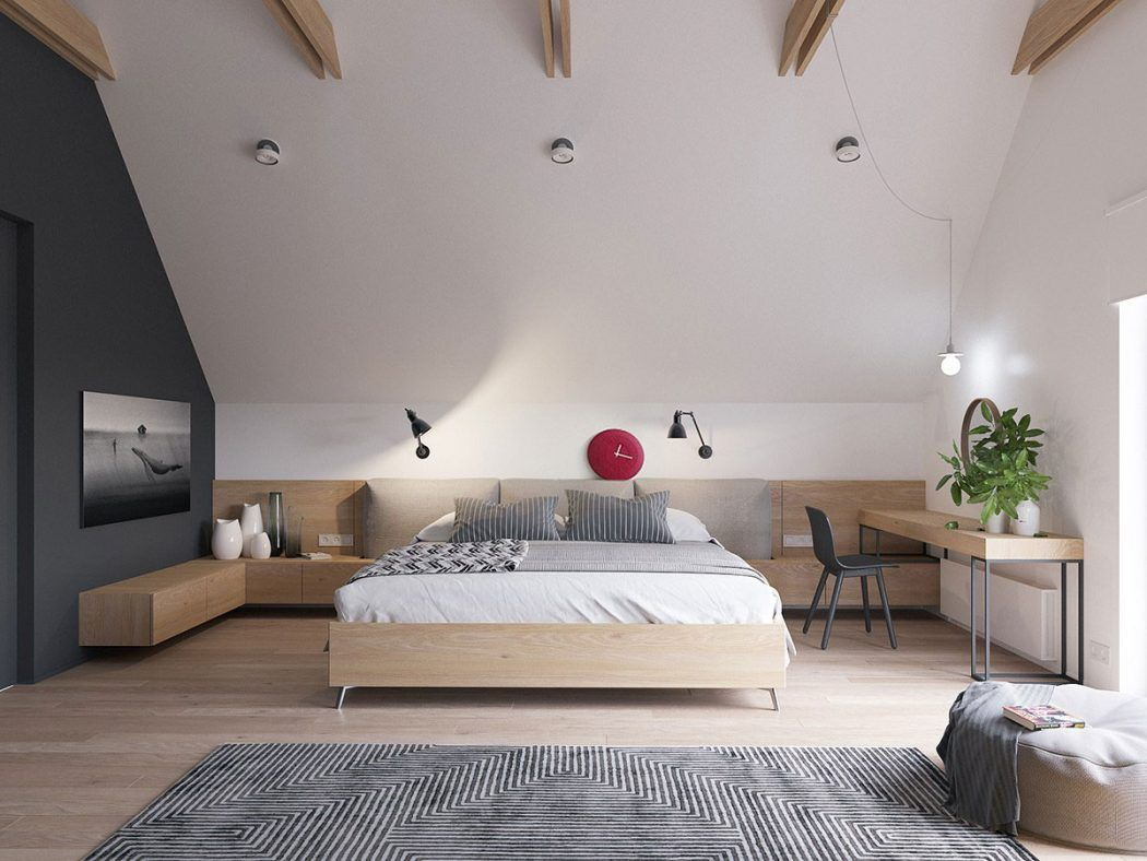 modern scandinavian by zrobym architects room bedroom pinterest schlafzimmer. Black Bedroom Furniture Sets. Home Design Ideas