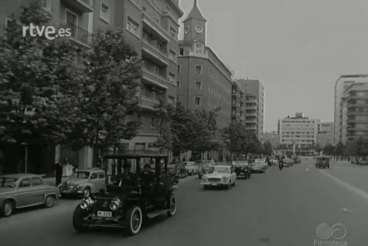 Junio 1961 - Rallye Bruselas-París-Madrid