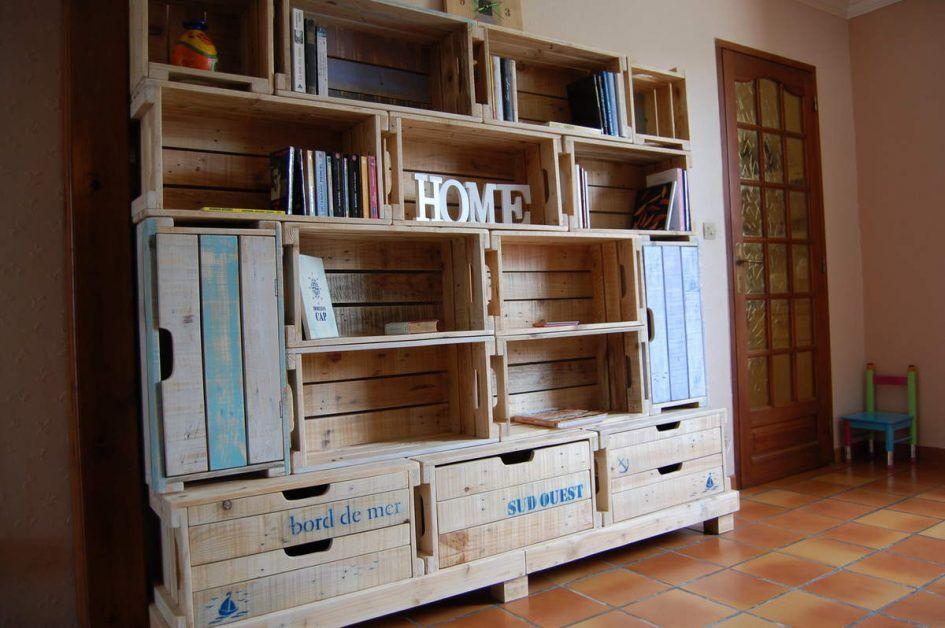 chambre monde des caisses bois palette