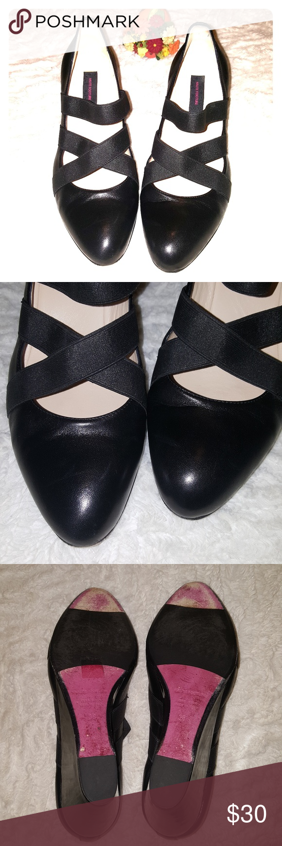 Haute Footure by Taryn Toe Rose Closed Toe Taryn Wedge Heel Made in Italy ... b44dc9