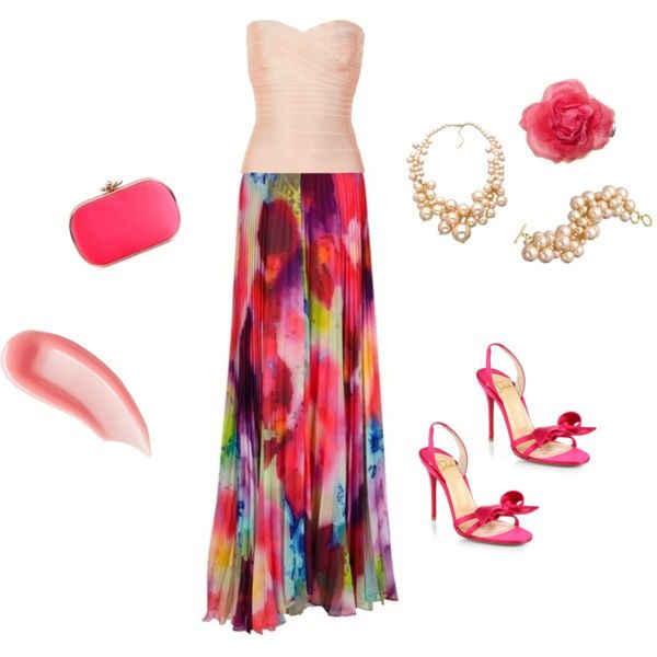 "Summer Wedding Outfit Ideas: ""Summer Wedding Guest Outfit For Pink Lovers"" By"