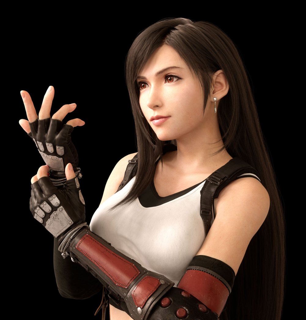 Tifa Lockhart Character Art Final Fantasy Vii Remake Art Gallery Tifa Final Fantasy Final Fantasy Vii Remake Final Fantasy Artwork