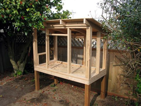 Our Urban Chicken Coop Plan Urban Chicken Coop Plans Urban