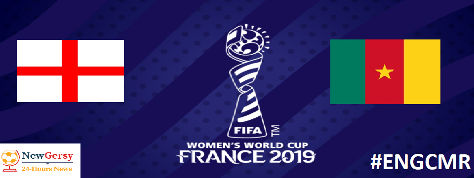 England 20 Cameroon 2019 FIFA Women's World Cup Round 16
