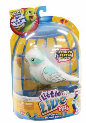 Little Live Pets Tweet Talking Birds Angelic Angela Mr Toys