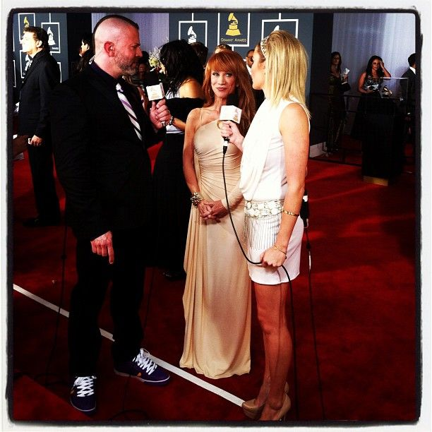Kathy Griffin on the red carpet! - @thegrammys | Webstagram