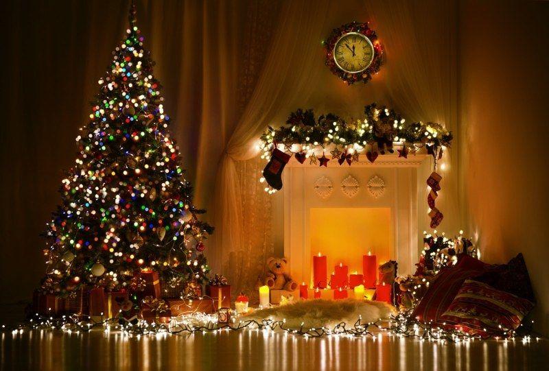 Außergewöhnliche Weihnachtsbeleuchtung.Lichterketten Am Weihnachtsbaum Was Sie Bei Der Installation