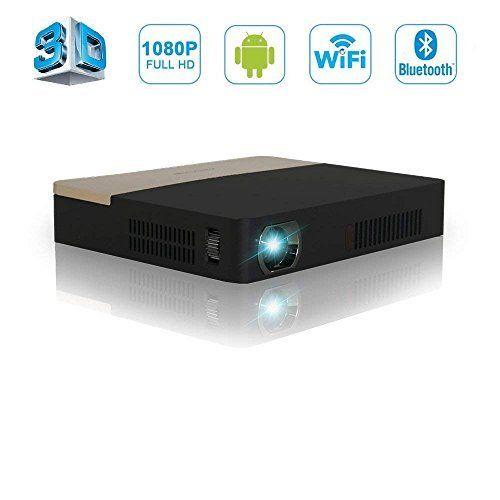 Verfügbar EUR 450,00 DLP Mini Beamer 3D Full HD Projektor Heimkino