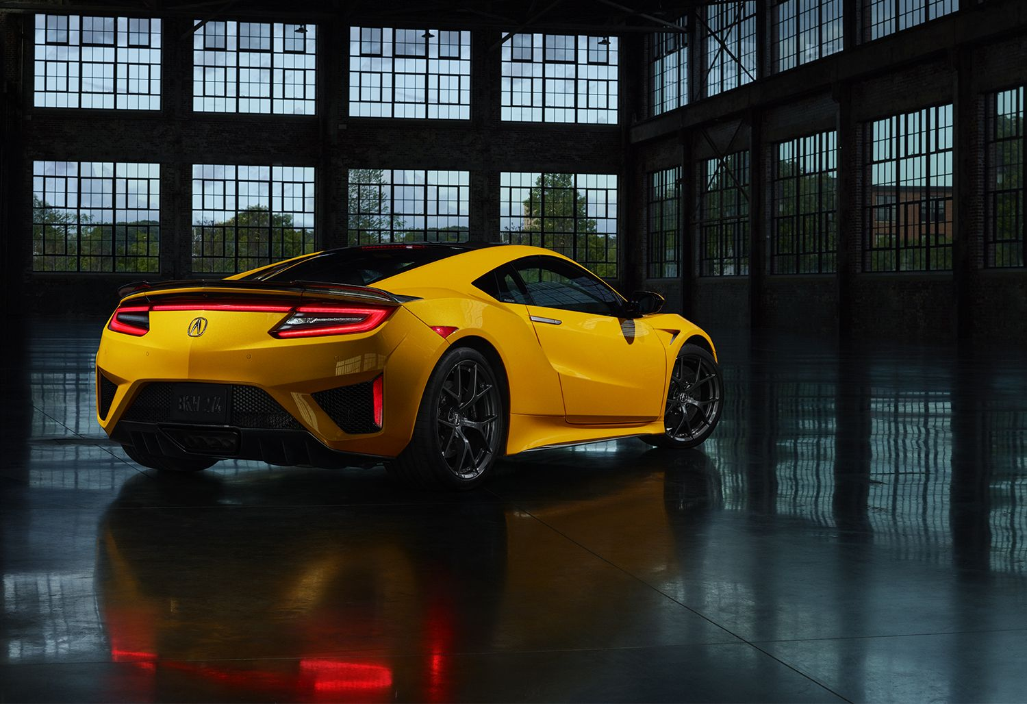 Indy Yellow Pearl Nsx In 2020 Nsx Acura Nsx Supercar Design