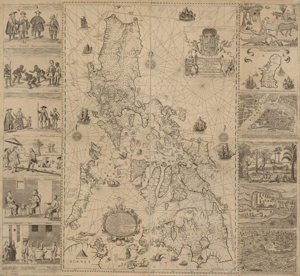LOCMaps on Twitter Ancient maps, Philippine map