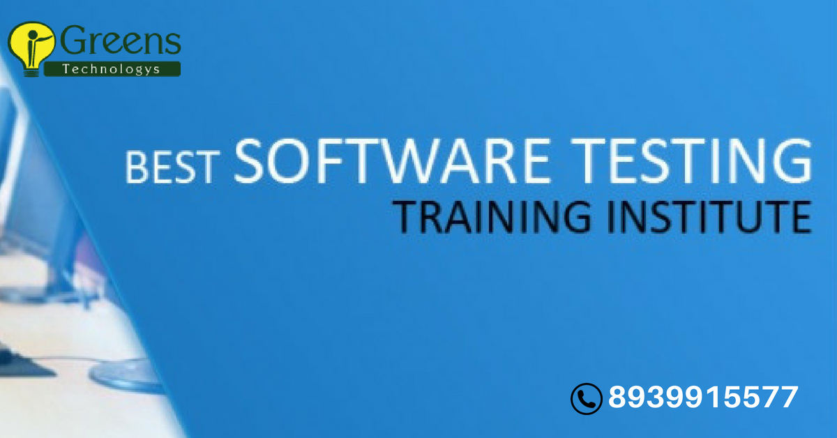 software testing  courses chennai offers best  testing