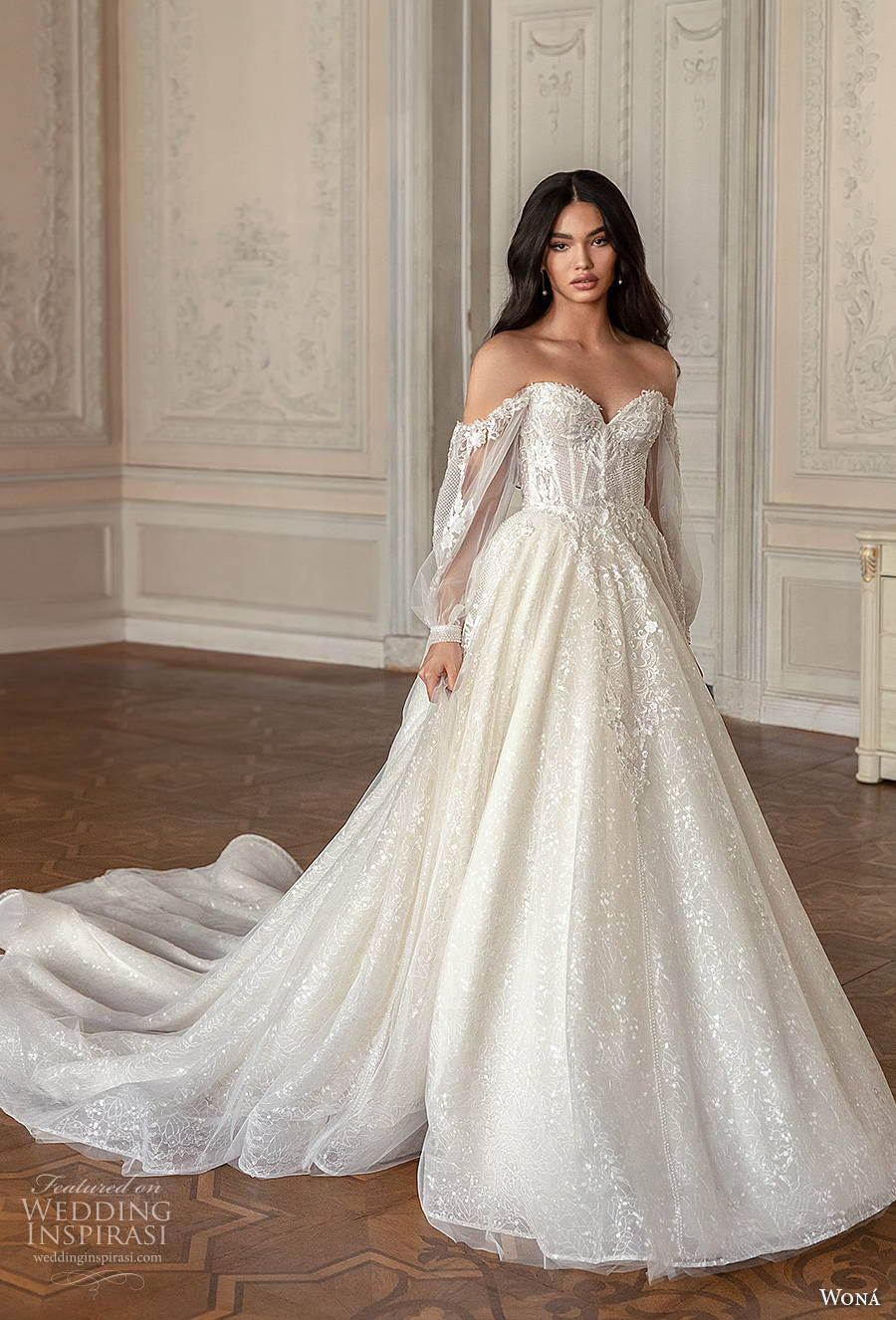 "WONÁ Concept 2021 ""Romance"" Wedding Dresses"