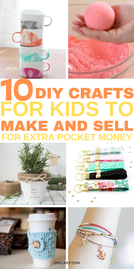 10 Crafts For Kids To Sell For Profit That Are Super Easy To