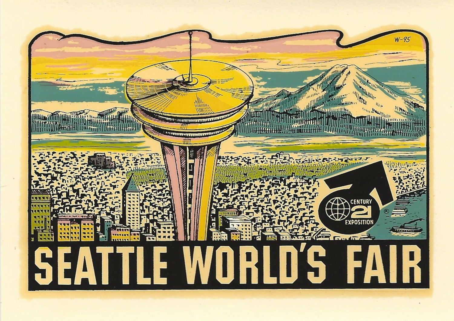 184 Days of the 1962 Seattle World's Fair - Day 103: Decal