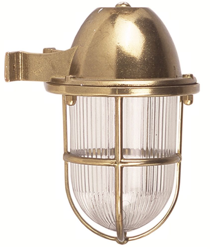 Brass Wall Sconce Lights, Indoor - Outdoor Nautical Lights. IP: 64 ...