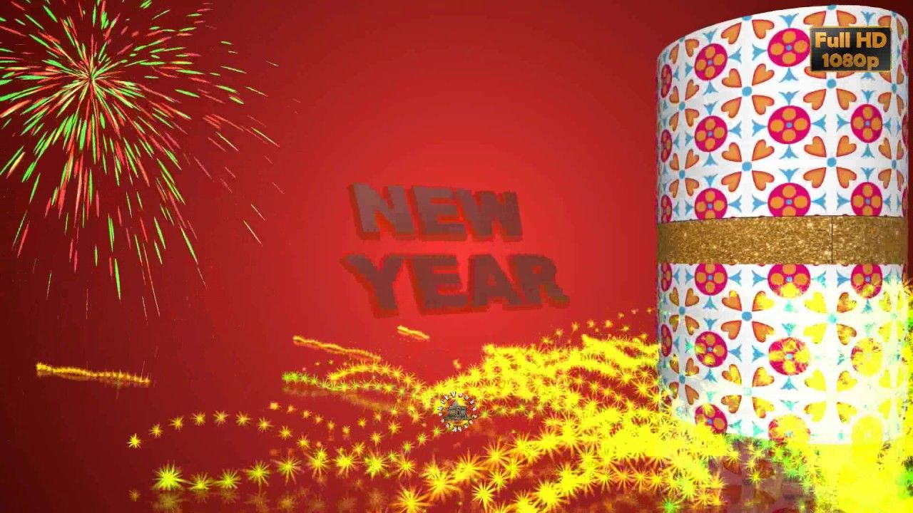 Happy new year 2017 wisheswhatsapp videogreetingsanimation happy new year greetings best new year wishes 3d animated whatsapp status video m4hsunfo