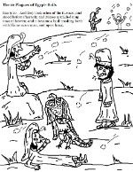 The 10 Plagues Of Egypt Coloring Pages 10 Plagues Plagues Of Egypt Coloring Pages
