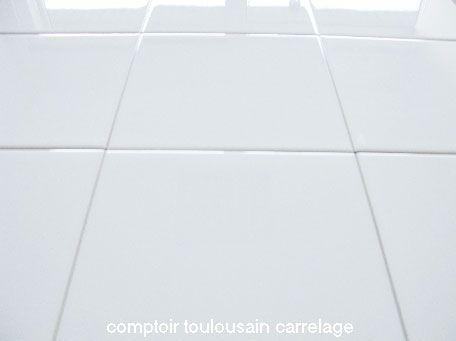 carrelage mural blanc brillant 20x20 mainzu carrelage mural carrelage salle de bain carrelage mural faience blanche - Salle De Bain Faience Blanche