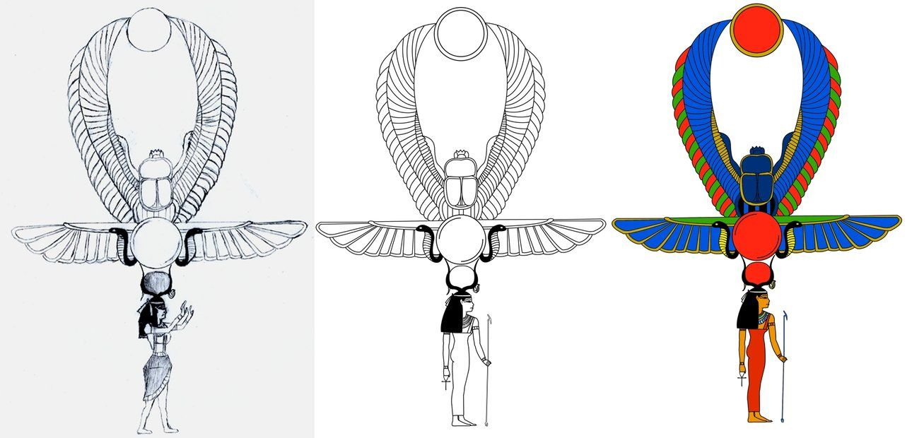 Woman Ankh Tattoo Designs: Top 9 Familiar Ankh Tattoo Designs