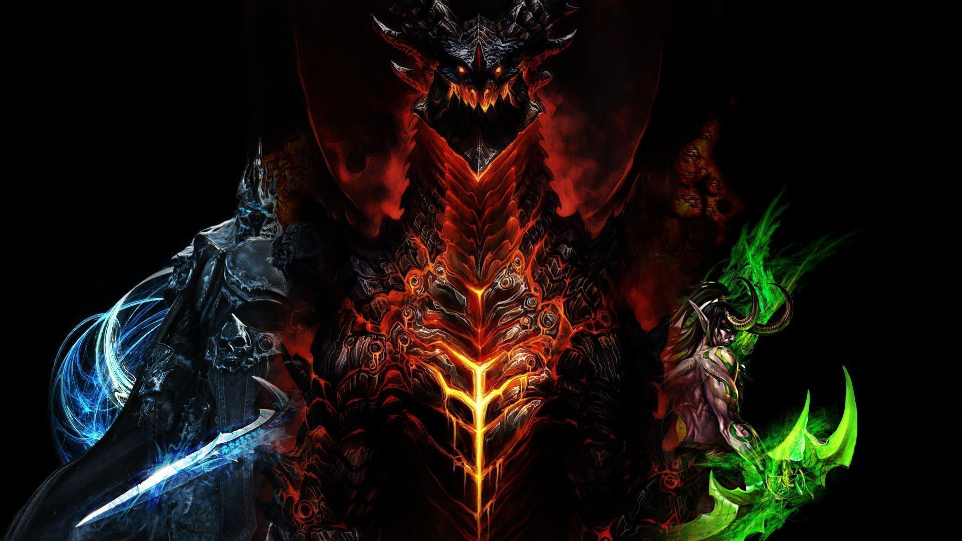 World Of Warcraft HD Wallpaper For Your Mobile Phone