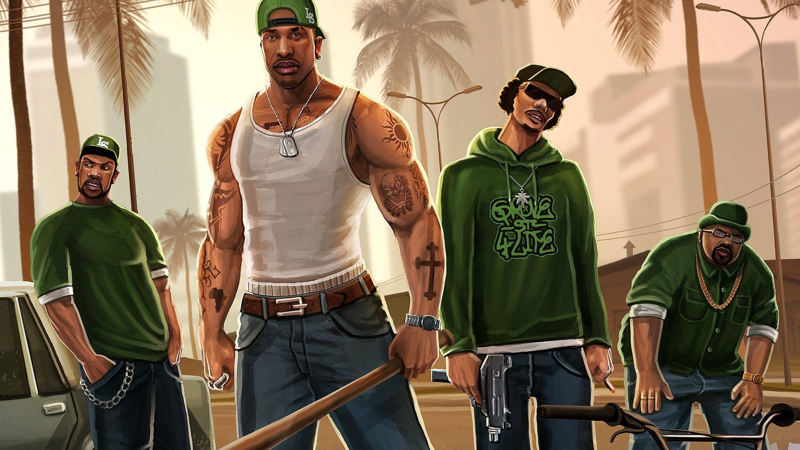 Cj From Gta San Andreas Wallpapers San Andreas Grand Theft Auto Games San Andreas Grand Theft Auto