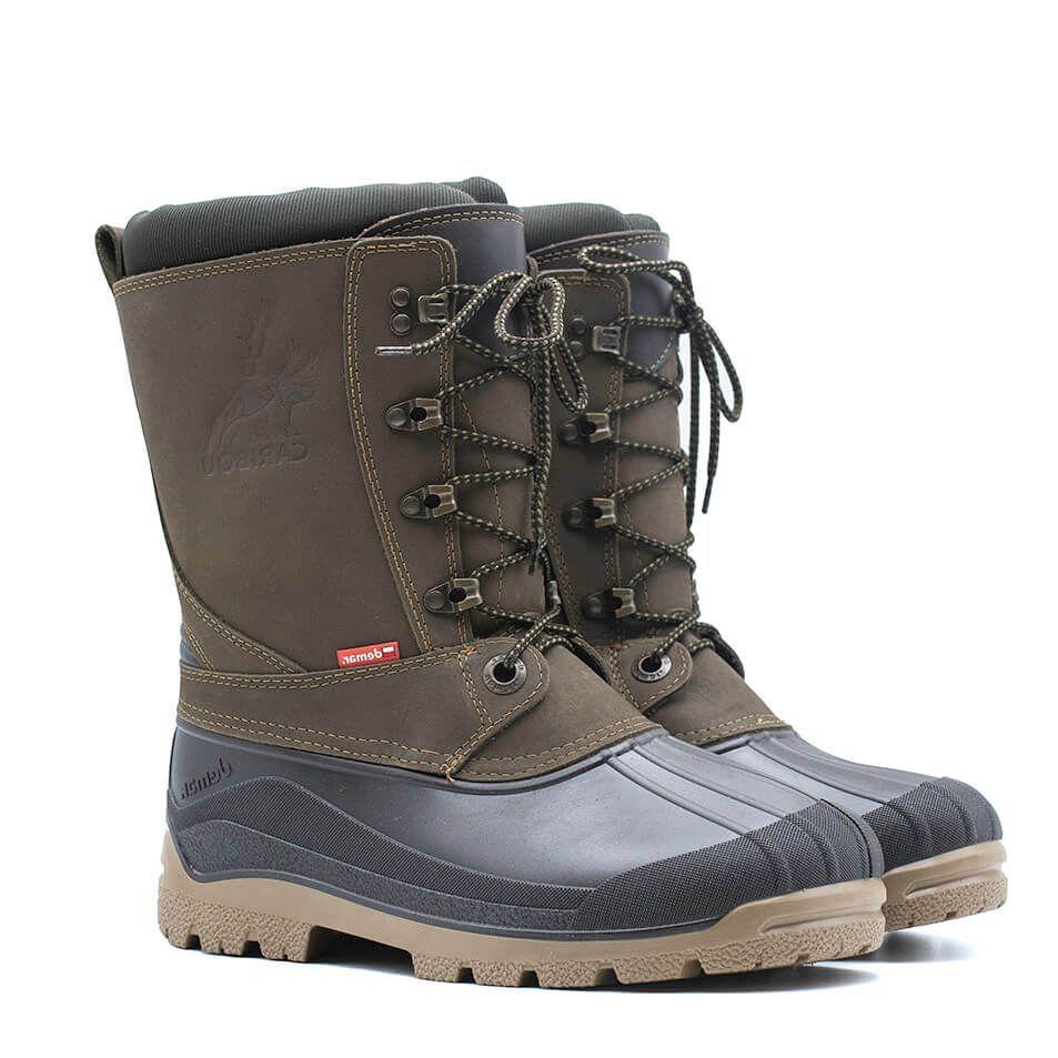 Buty Mysliwskie Meskie Obuwie Zimowe Ocieplane Wkladem Demar Caribou Pro Boots Hunting Boots Winter Shoes