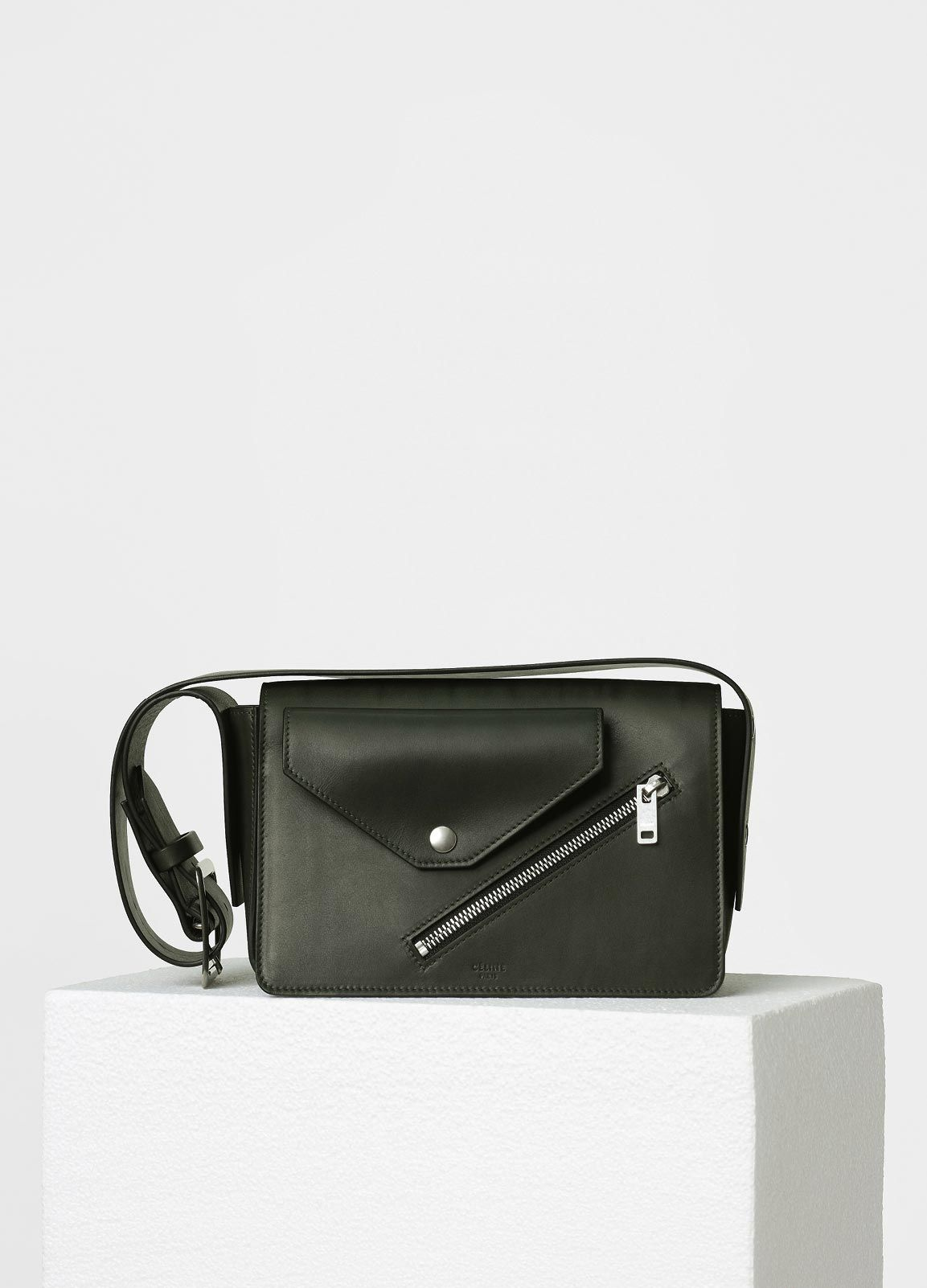 6cd2395fe7e0 Medium Case Biker Shoulder Bag in Natural Calfskin - Spring   Summer  Collection 2017