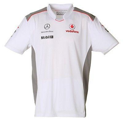 An official product of the Vodafone McLaren Mercedes Formula One team. Team  T-Shirt