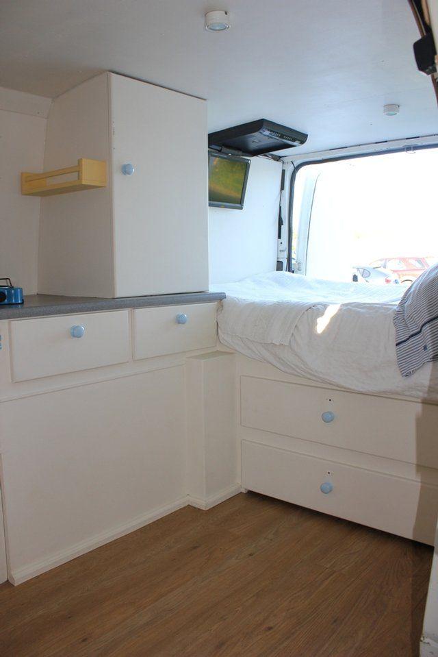 preloved converted ford transit campervan surf camper. Black Bedroom Furniture Sets. Home Design Ideas