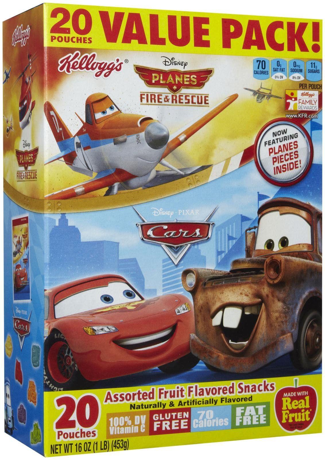 Kellogg S Fruit Flavored Snacks Disney Planes Amp Pixar
