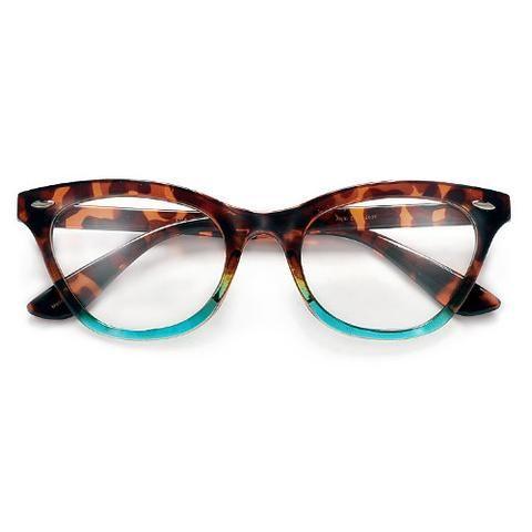ed325070b06cb Tie Dye Nerdy Hippie Clear Lens Wayfarer Glasses