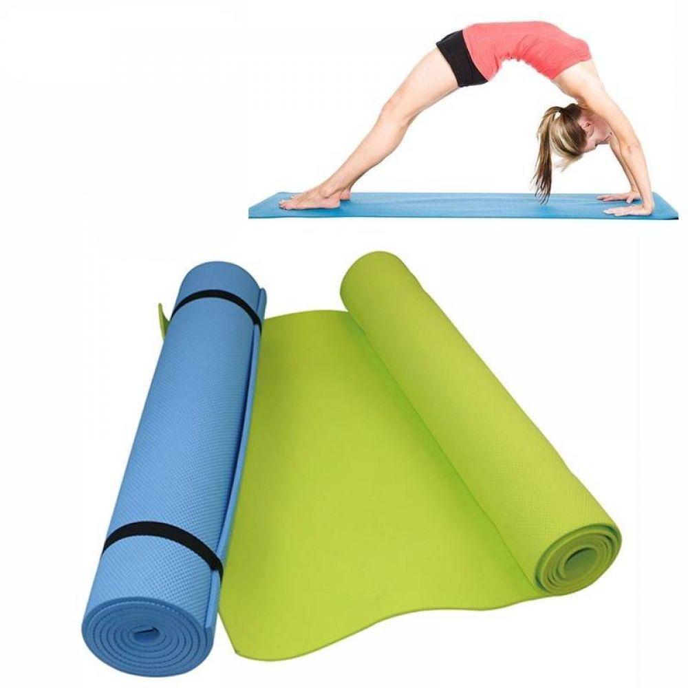 Details about  /Yoga Mat EVA Non-Slip Fitness Pad Workout Exercise Gym Pilates Meditatio