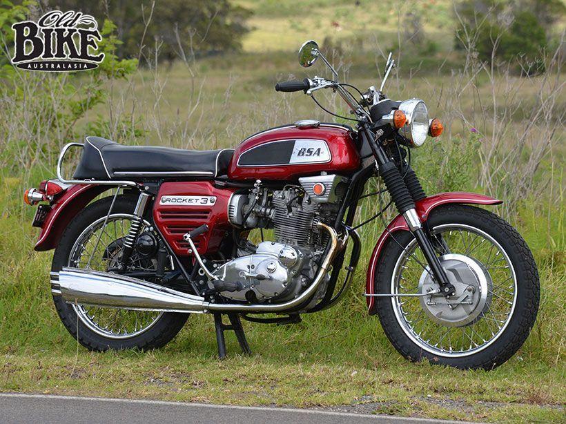 Late thrust - 1969 BSA Rocket 3 - Old Bike Australasia