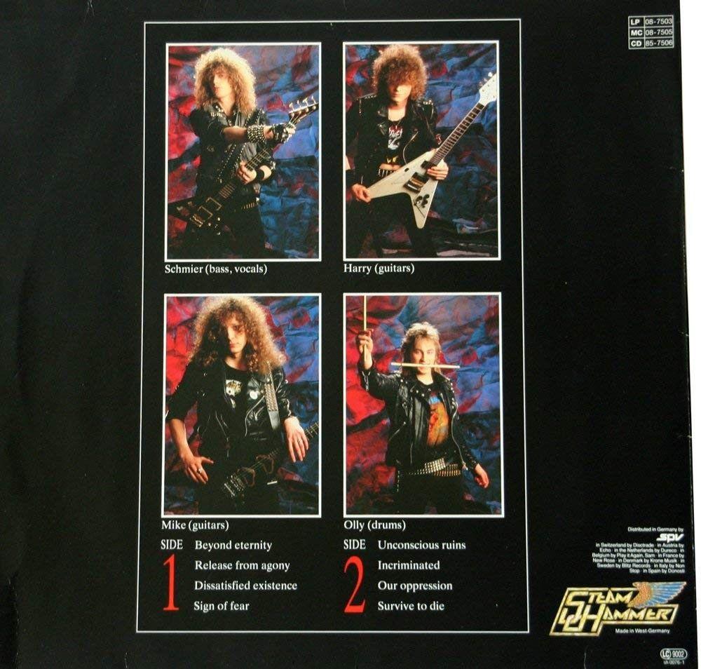 Release From Agony ( EP Vinyl ) | Thrash metal, Vinyl, Book cover