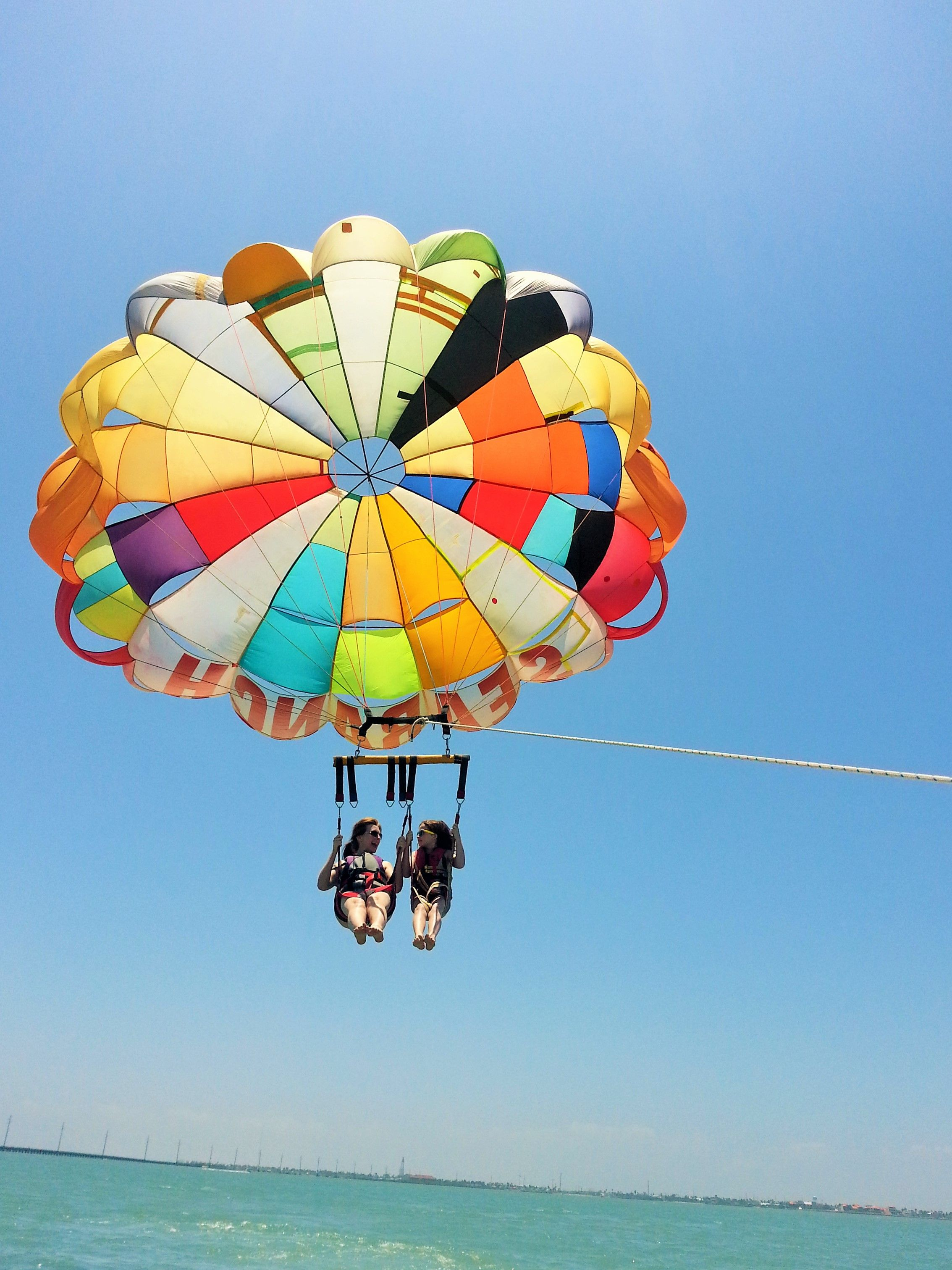 parasailing south padre island texas adventure time pinterest