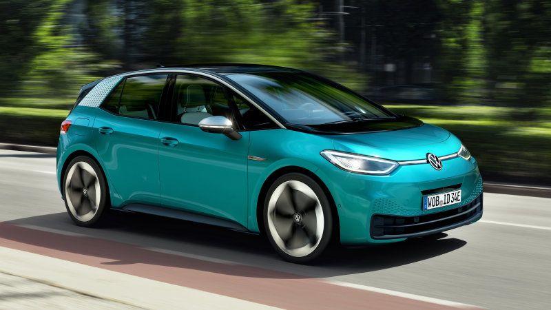 Take A Listen To The Volkswagen Id 3 And Koenigsegg Jesko Electric Cars Volkswagen Tesla Model