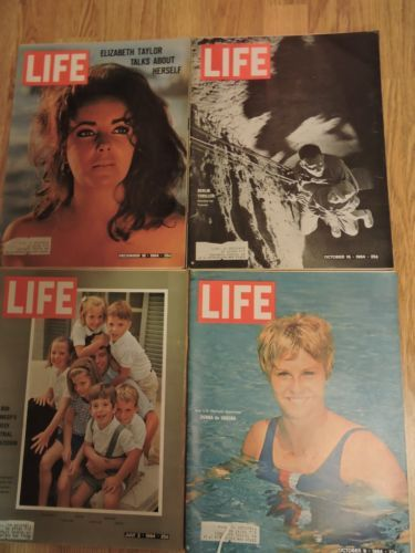 Lot-of-26-LIFE-Magazines-1964