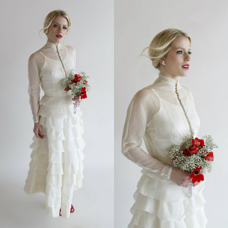 1920s Wedding Dress / Vintage Gatsby Dress Vintage