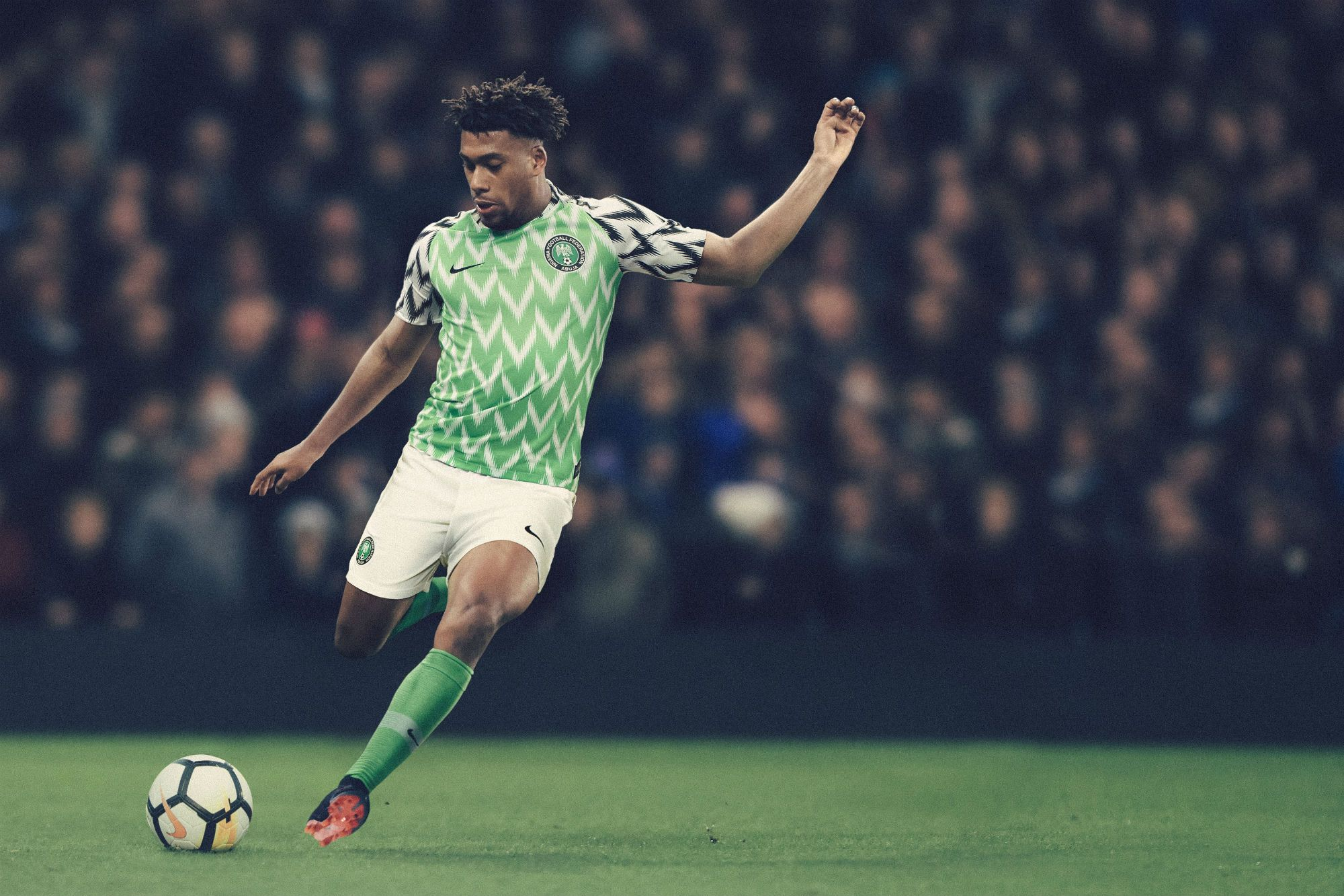 How Nike Designed Nigeria S Amazingly Graphical World Cup Jersey World Cup Jerseys Fifa World Cup National Football Teams