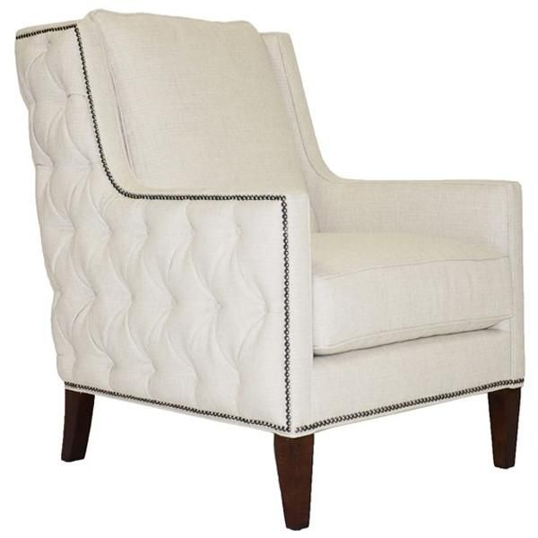 Charmant Vanguard Furniture Treadway Cream Puff Kirby Chair