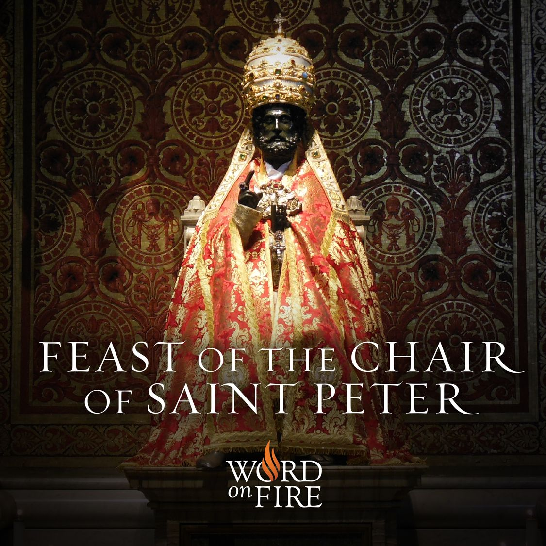 Feast Of The Chair Of St Peter Saints Saint Feast Days Feast
